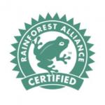 Rainforest Alliance certified bananas.