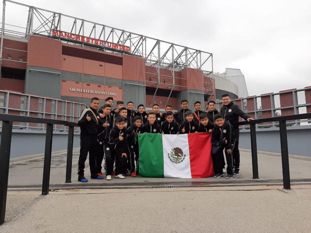 Iniciativa7 Mexico Visit to Manchester United Stadium Salford.